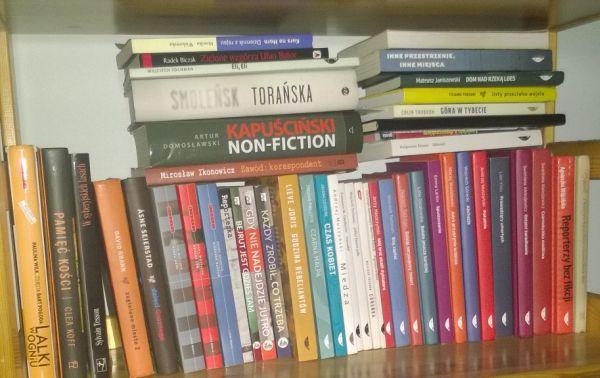 Książki, reportaże, literatura faktu