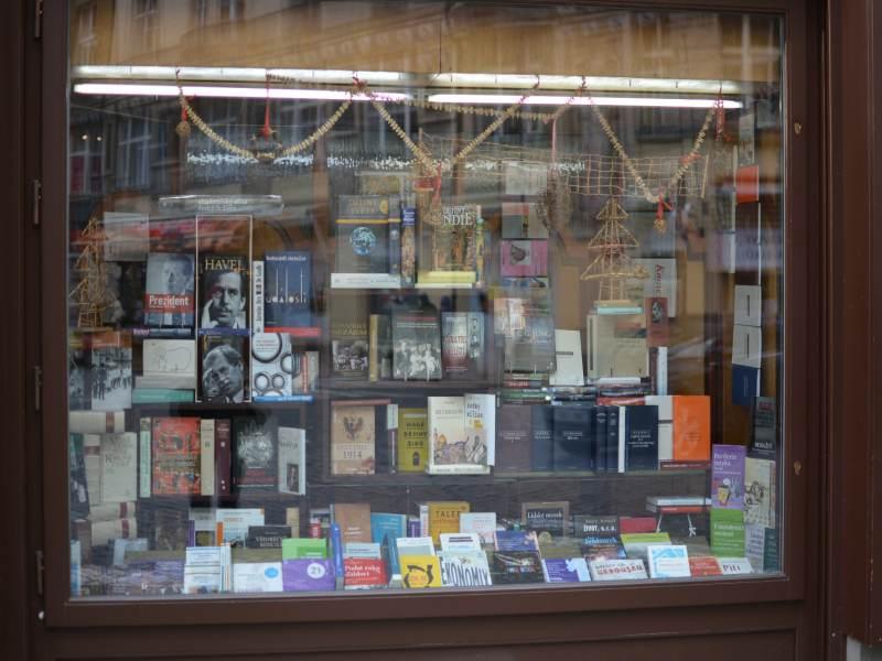 Typowa czeska księgarnia