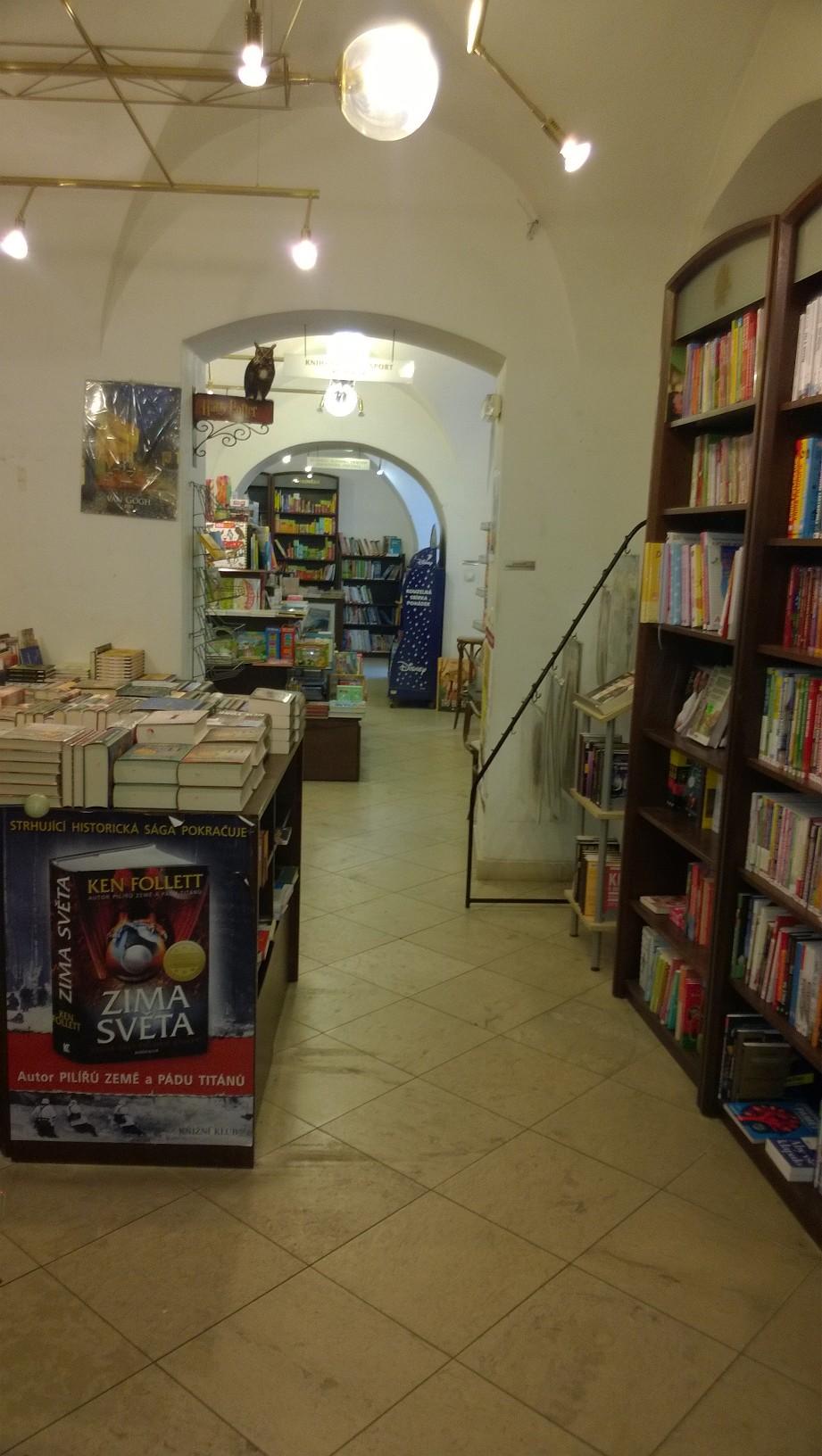 Mała, zagubiona czeska księgarnia