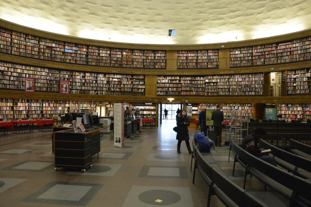 Biblioteka miejsca w Sztokholmie
