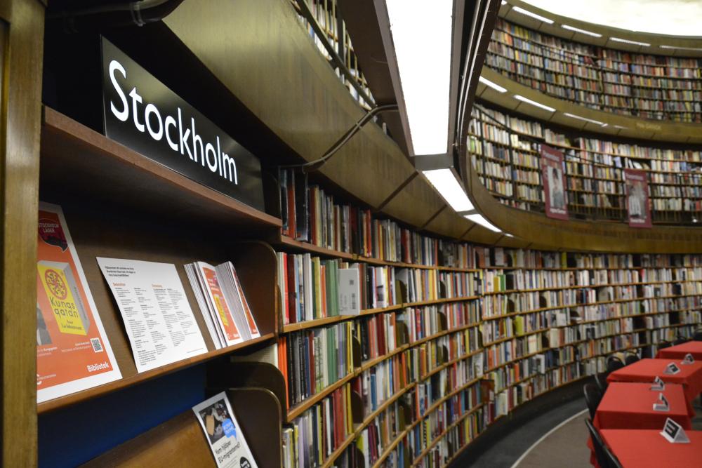 Biblioteka miejska w Sztokholmie