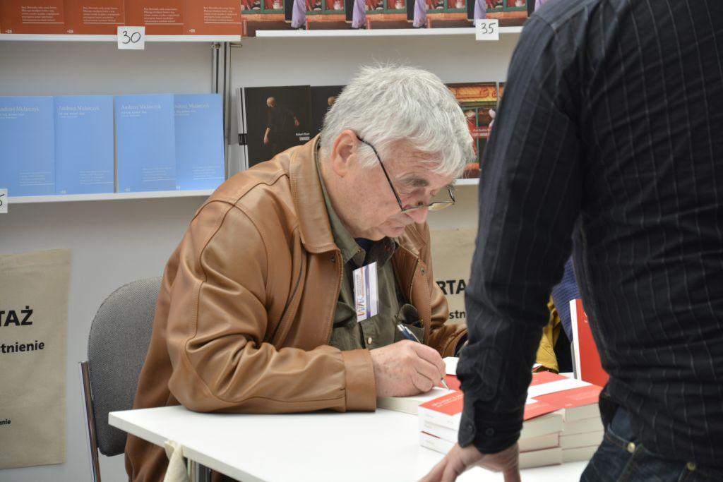 Wiesław Łuka Warszawskie Targi Książki