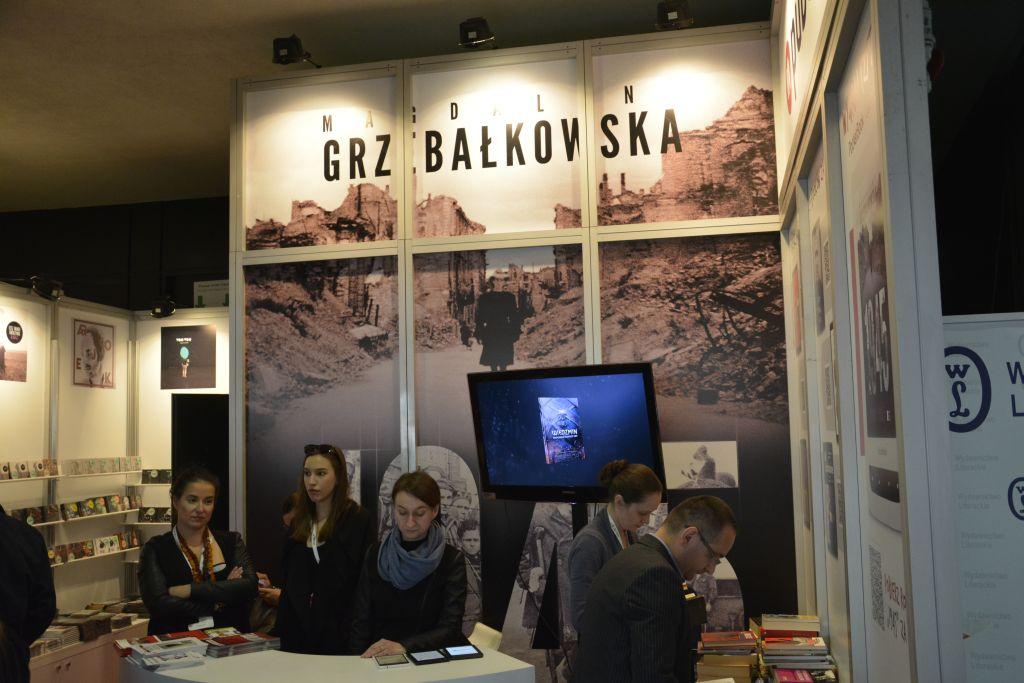Magdalena Grzebałkowska Warszawskie Targi Książki