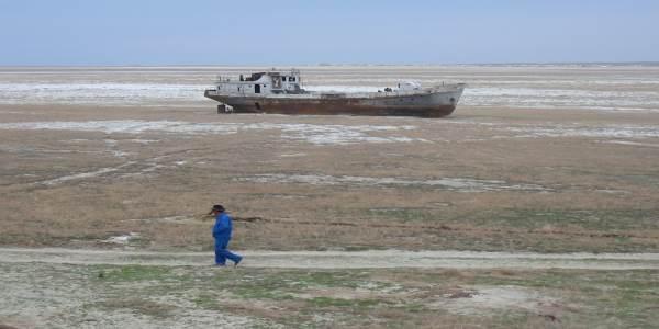 Morze Aralskie, fot. Staecker
