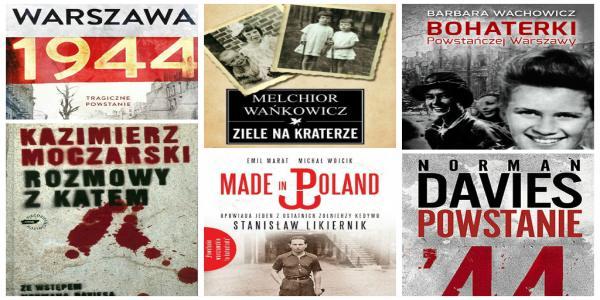 Książki o Powstaniu Warszawskim. 11 całkiem różnych tytułów