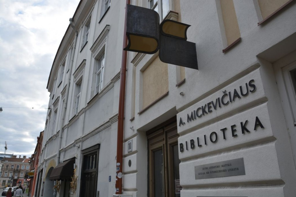 Biblioteka imienia Adama Mickiewicza w Wilnie
