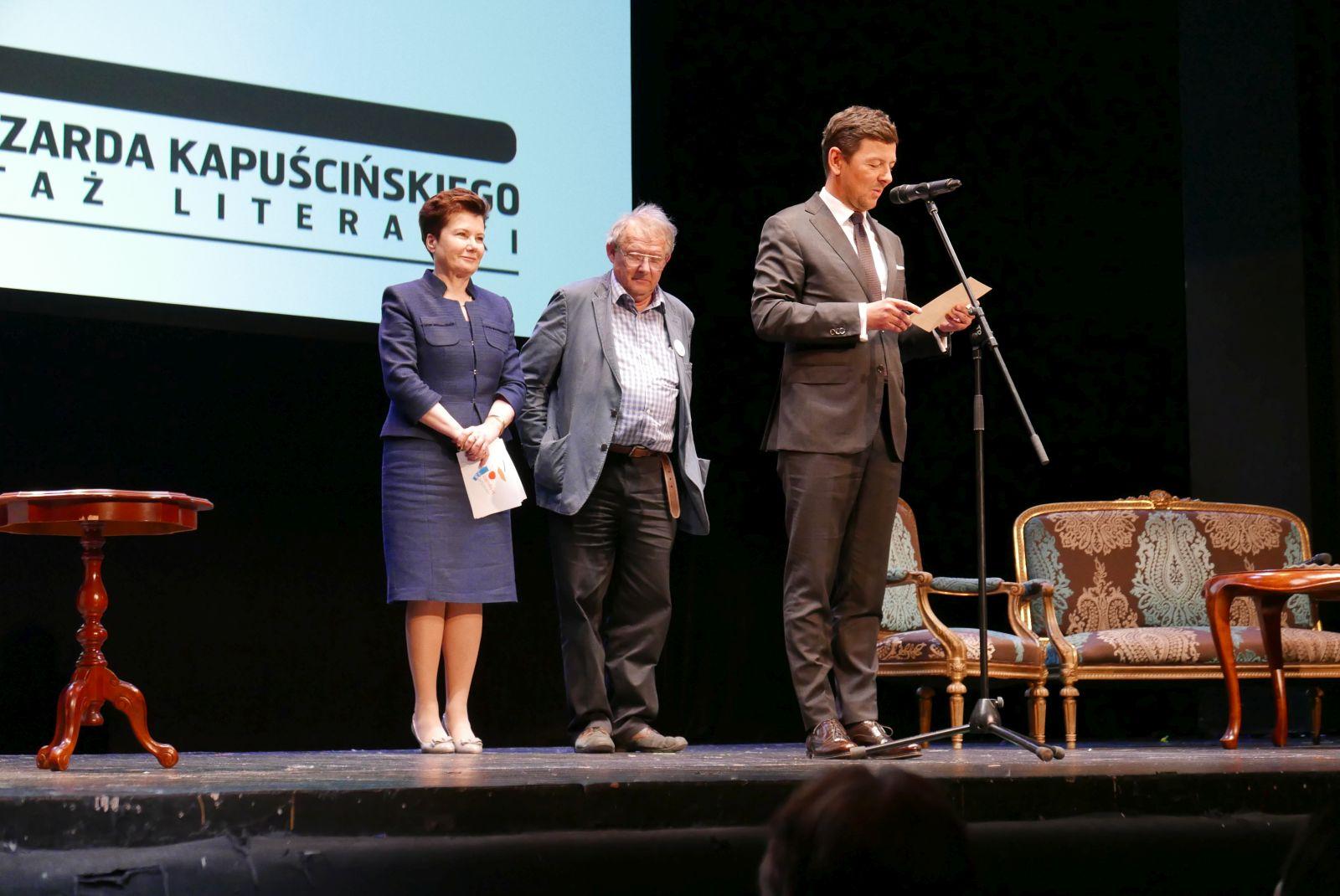 Gala wręczenia Nagrody im. Ryszarda Kapuścińskiego