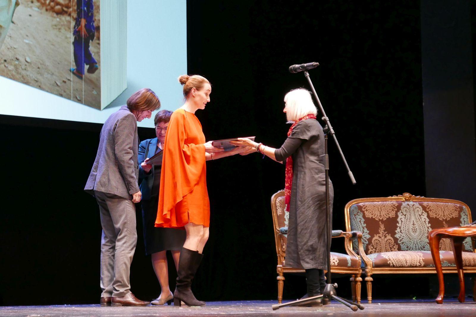 Jenny Nordberg, gala wręczenia Nagrody im. Ryszarda Kapuścińskiego