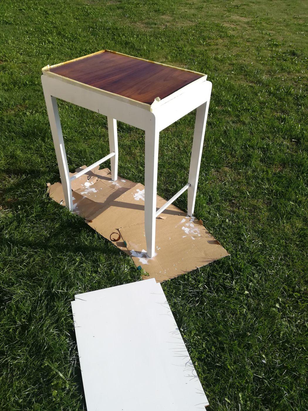 Blat stolika PRL
