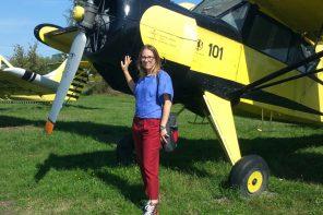 """Anna Rudnicka-Litwinek:""""Nie pozbawiajmy się jako kraj pokolenia przyszłych lotników"""""""